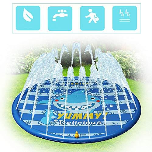 Sprinkler Splash Pad, Splash Mat Water Mat Toys - Baby Baby Waden Zwembad Sprinkler Pad Voor Kinderen Buitenspeelgoed Waterspeelgoed Voor Kinderen