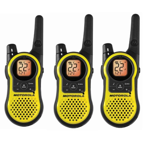 Motorola MH230TPR Giant Rechargeable Two Way Radio 3 Pack, FRS/GMRS