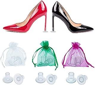 High Heel Protectors,Heel Stopper -Perfect for Weddings (S, M, L)