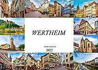 Wertheim Impressionen (Wandkalender 2022 DIN A2 quer): Zwoelf wunderschoene Bilder der Stadt Wertheim (Monatskalender, 14 Seiten )
