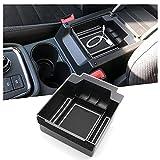 RUIYA Para consola central de Seat Ateca, caja de almacenamiento, reposabrazos, bandeja organizadora, reposabrazos central, accesorio de coche (color blanco)