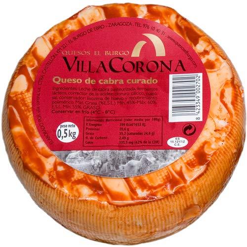Queso Cabra Curado - Villa Corona (500 g)
