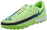 Nike Phantom GT Academy TF, Scarpe da Calcio Unisex-Adulto, Lime Glow/Aquamarine-off Noir, 45 EU