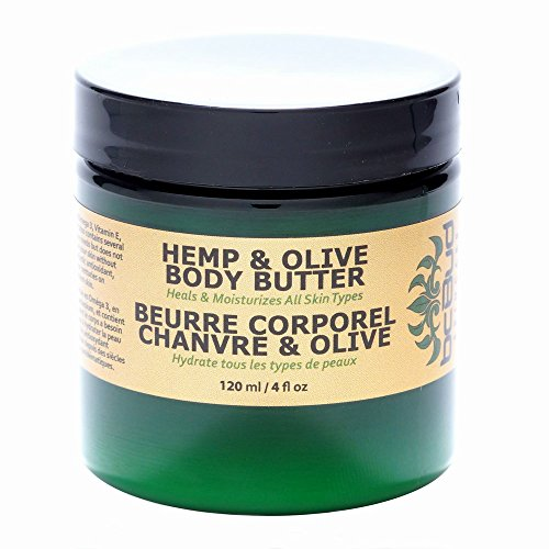 BC Bud Natural Hemp & Olive Body Butter   Creamy Ultra Hydrating Formula for Dry Skin   Made with Pure Hemp Seed Oil…