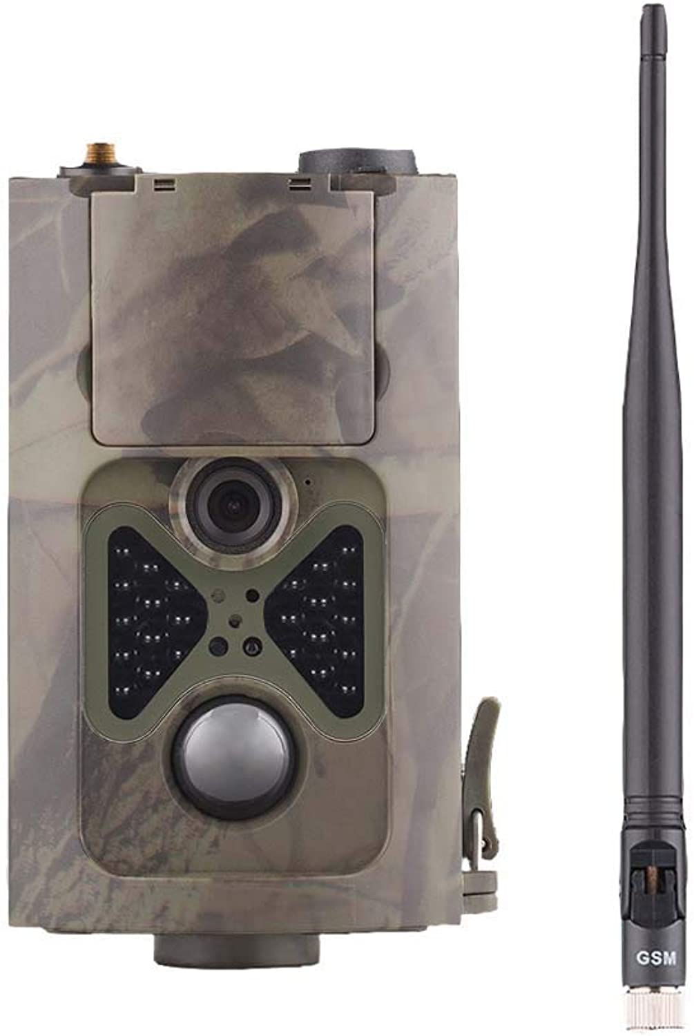 Wildlife Camera 16MP 1080P Trail Game Camera Night Vision 20m with 2.0  LCD Display IP56 for Wildlife Hunting and Home Security