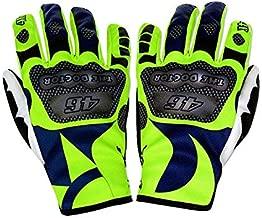Valentino Rossi VR46 Moto GP Sun & Moon Gloves Official 2019