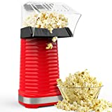 Hot Air Popcorn Maker, Popcorn Machine, 1200W Popcorn Popper with Measuring Cup