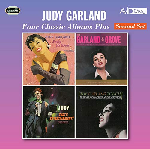 Four Classic Albums Plus (Judy In Love / Judy Garland At The Grove / That's Entertainment / The Garland Touch)