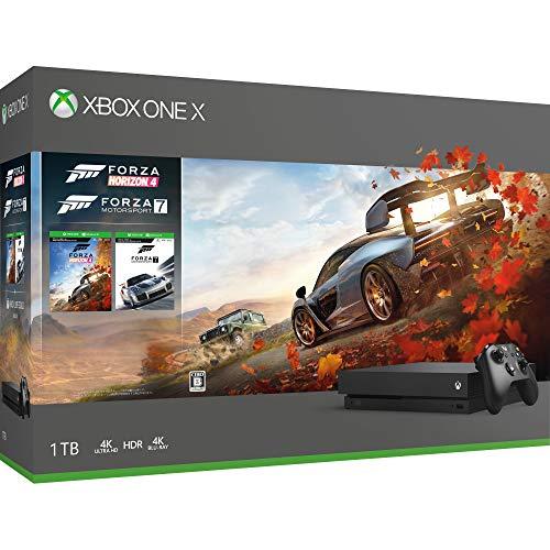 Xbox One X Forza Horizon 4/Forza Motorsport 7 同梱版 (CYV-00062)