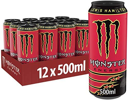 Monster Energy LH 44 Lewis Hamilton, 12er Pack (12 x 500 ml)