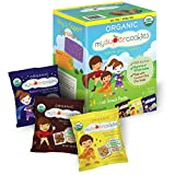 MySuperCookies Organic Whole Grain, Healthy Snacks for Kids — 24 Snack Packs, Peanut & Tree Nut...