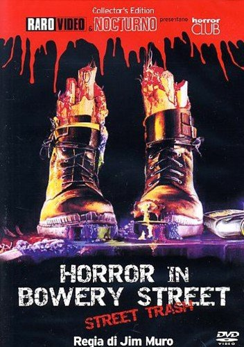 horror in bowery street [Italia] [DVD]