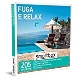Smartbox - Fuga e Relax Cofanetto Regalo Coppia, 1 Notte con Colazione e 1 Momento Relax per 2 Persone, Idee...