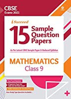 CBSE New Pattern 15 Sample Paper Mathematics Class 9 for 2021 Exam with reduced Syllabus