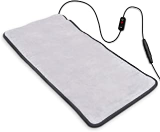 Heating Pad, Far-lnfrared Heating Pads with Auto Shut Off, Ultra Soft Heat Pad with 3 Temperature Settings for Back Shoulder Pain Relief, Fast Heating with Graphene Heating Element 12