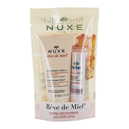 NUXE Reve de Miel Pflegeset Hand & Lippen 1 St Beutel