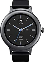 LG Electronics LGW270.AUSATN Watch Style Smartwatch with Android Wear 2.0 (Renewed) (Titanium)