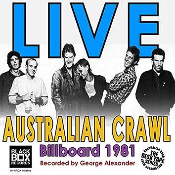 Live at Billboard 1981
