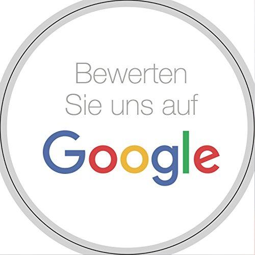 Social Media Sticker Set – Bewerten Sie uns auf Google Stickers, Facebook Stickers und Instagram Stickers (Google-Aufkleber)
