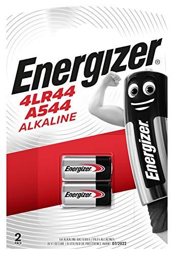 Energizer 4LR44/A544 Alkali Batterien, 6V, 2 Stück