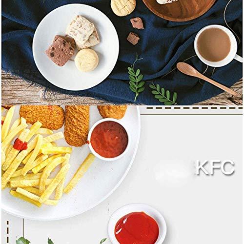 51fl3sbVTLL. SL500  - YFGQBCP Air Fryer Oil Free w/Rezepte, Kochbuch, Antihaft-Beschichtung Spülmaschinenfest-Teile, Größe 32cm * 28cm