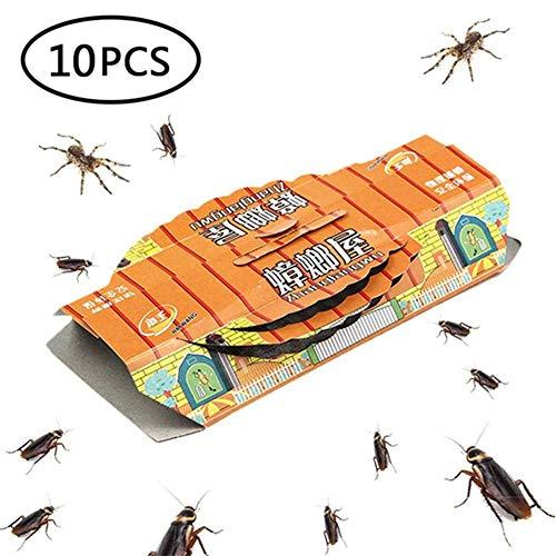 Kicode Les pi/èges de blattes pour Pesticide Tuer les fourmis Roaches araign/ées et autres insectes Insectes Non toxique et /écologique