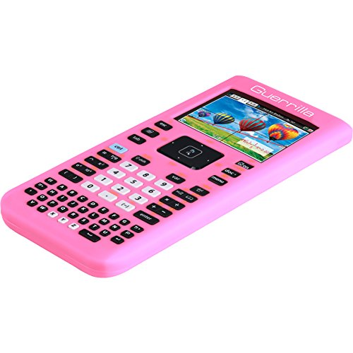 Guerrilla Silicone Case for Texas Instruments TI Nspire CX/CX CAS Graphing Calculator, Pink Photo #3
