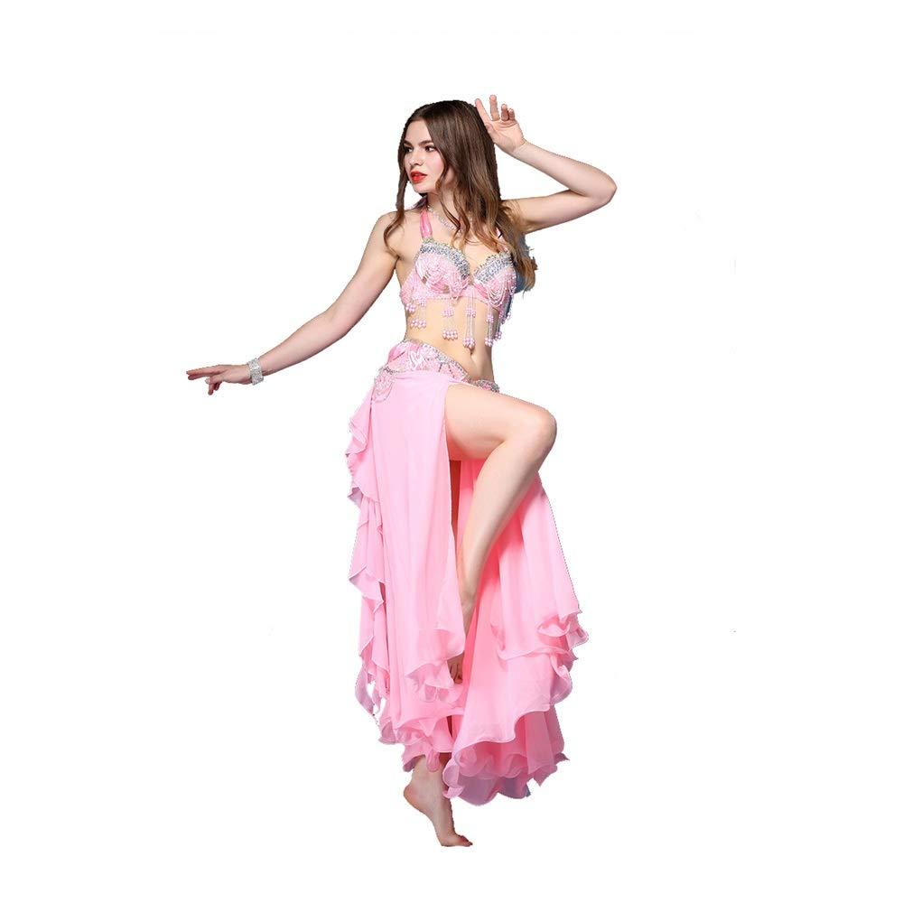 Gububi Vestidos de Baile Latino para Mujer Belly Dance Costume Bra ...