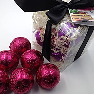 BLACK RASPBERRY VANILLA GIFT SET with 6 Bath Bomb Fizzies with Shea, Mango & Cocoa Butter, Ultra Moisturizing (14 Oz) Great for Dry Skin, All Skin Types (Black Raspberry Vanilla)