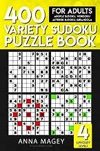 400 Variety Sudoku Puzzle Books for Adults: Argyle Sudoku, Wordoku, Asterisk Sudoku, Girandola (Variety Sudoku Books) (Volume 3)