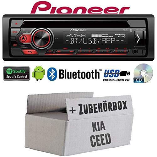 Autoradio Pioneer USB Superb Kit montaggio per Skoda Fabia