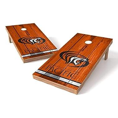 PROLINE NCAA College 2' x 4' Pacific Tigers Cornhole Board Set - Vintage