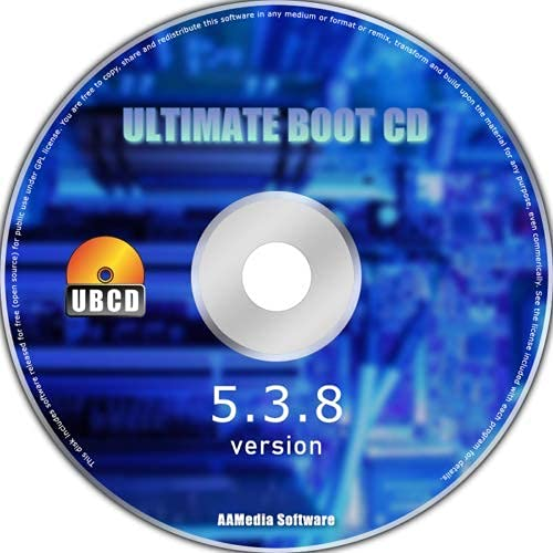 New Ultimate Boot CD Windows 7 8 10 PC Computer Laptop Recovery Restore Fix Repair Boot Disk CD