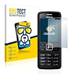 BROTECT Panzerglas Schutzfolie kompatibel mit Nokia 6300 2007-9H Extrem Kratzfest, Anti-Fingerprint, Ultra-Transparent