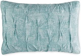 Bar III Diamond Pleat Mineral Blue Standard Sham