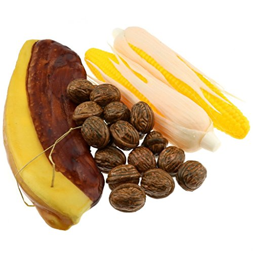 Moving Box cosecha de otoño de maíz falso conservas de carne artificial nueces Alimentos decoración del hogar del partido