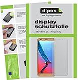 dipos I 2X Schutzfolie matt kompatibel mit ZTE Blade V9 Vita Folie Bildschirmschutzfolie