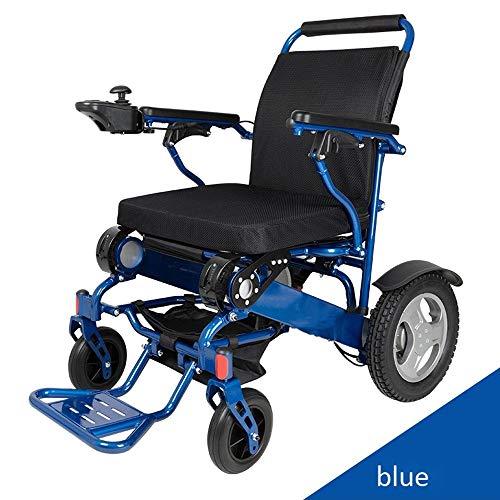 Leichte Elektro-Rollstuhl, Elektro-Rollstuhl kann in 5 Sekunden geöffnet / gefaltet werden, leicht und kompakt Elektro-Rollstuhl mit elektrischem oder manuellem Rollstuhl, Kreuzfahrt bis zu 15-20km JN
