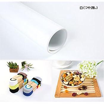 【iMakim's】 PVC 背景布 背景紙 商品撮影 商品 出品用 小物 写真 白 (つや消し)