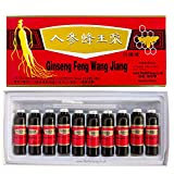 Red Panax Ginseng Royal Jelly Extract Oral Liquid 10ml | (60 Vials)