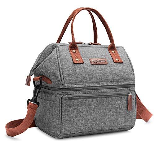 Moyad Sac Isotherme Homme Sac Repas Style Business Lunch Bag pour Bureau Travail 7L