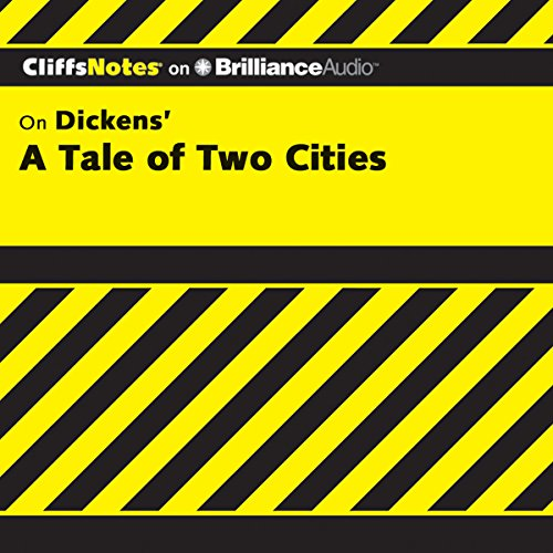 A Tale of Two Cities: CliffsNotes audiobook cover art