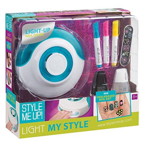 Style me up 0531017 Nail Chalkborad Sets - Kosmetik und Schmuck, Mehrfarbig