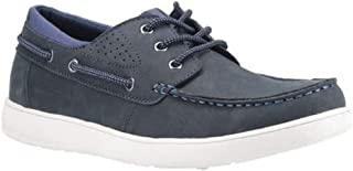 Hush Puppies Mens Liam Lace Up Leather Boat Shoe