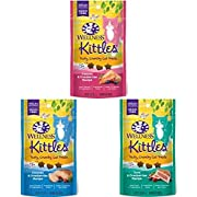 Wellness Kittles Grain Free Crunchy Natural Cat Treats Variety Pack, 2-Ounce Bag (Pack Of 3)