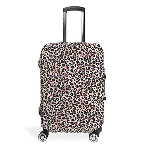 Lind88 Leopard Travel Bagage Hoezen - Sexy Spandex 4 Maten passen Vele koffer