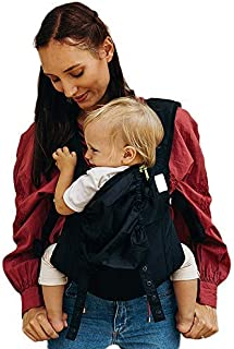 Boba Air Baby Carrier - Black with padded leg openings, Cool Mesh Padding and Lightweight Backpack Design