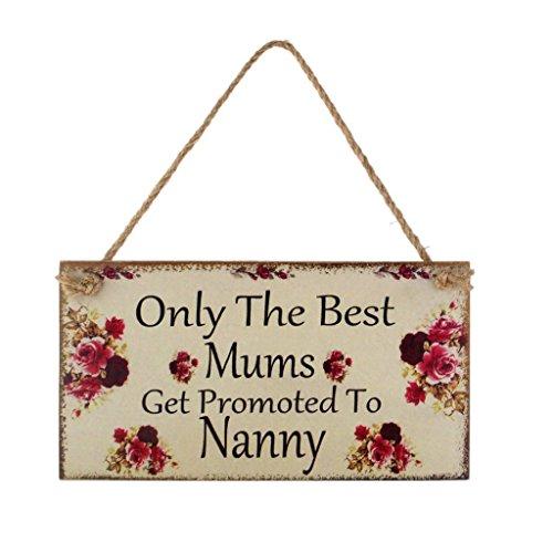 uniquement les meilleurs mamans pour chauffage à Nanny plaque murale à suspendre en bois