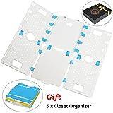 BoxLegend V4 Shirt Folding Board t Shirts Clothes Folder Durable Plastic Laundry folders Foldin…
