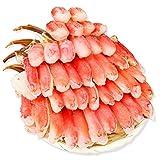 生 ズワイガニ| 特大 7L~5L 生ずわい蟹 半むき身満足セット 2.7kg超